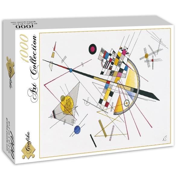Delikatne napięcie, Wassily Kandinsky (1923) - Sklep Art Puzzle