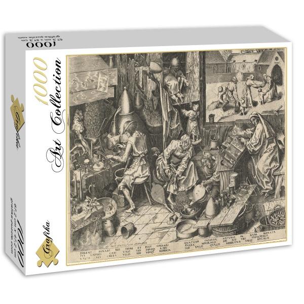 Alchemicy, Brueghel (1558) - Sklep Art Puzzle
