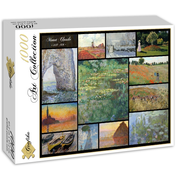 Collage, Claude Monet - Sklep Art Puzzle
