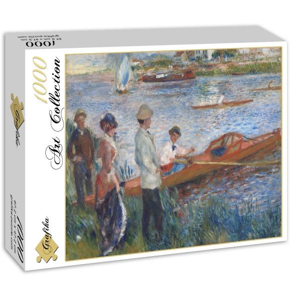 Kajakarze w Chatou, Auguste Renoir (1879) - Sklep Art Puzzle