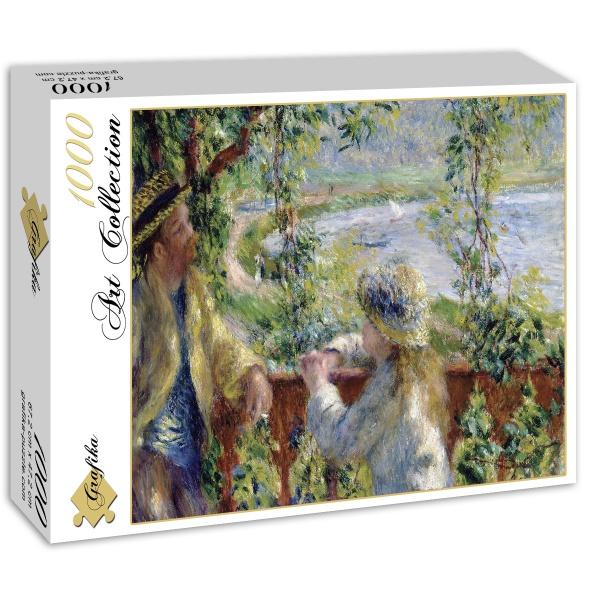 W pobliżu jeziora, Auguste Renoir (1879) - Sklep Art Puzzle