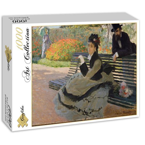 Camille Monet, Claude Monet (1873) - Sklep Art Puzzle
