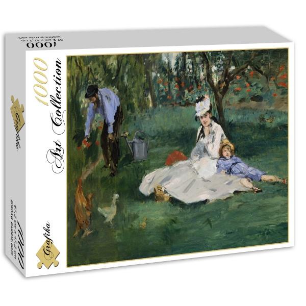 Odpoczynek w sadzie, Edouard Manet (1874) - Sklep Art Puzzle
