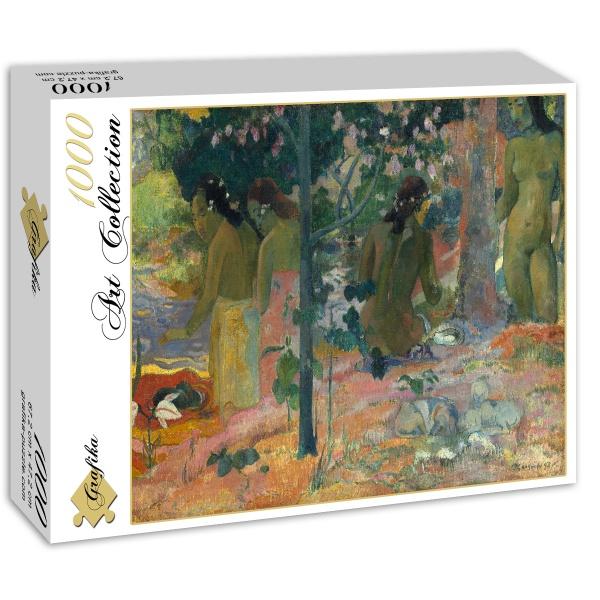 Kąpiel, Paul Gauguin (1897) - Sklep Art Puzzle
