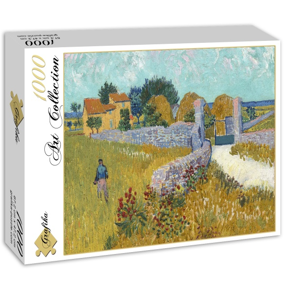Dom wiejski w Prowansji, Vincent van Gogh (1888) - Sklep Art Puzzle