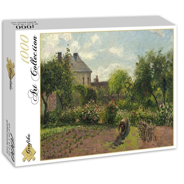 Ogród artysty w Eragny, Camille Pissarro (1898) - Sklep Art Puzzle
