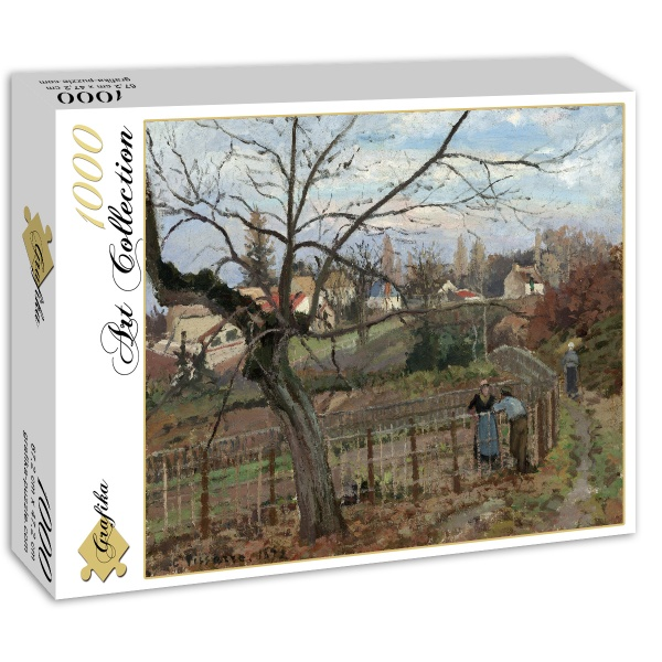 Spotkanie, Camille Pissarro (1872) - Sklep Art Puzzle