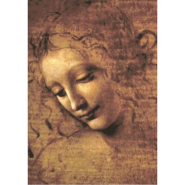 La Scapigliata, Leonardo Da Vinci,(1508) - Sklep Art Puzzle