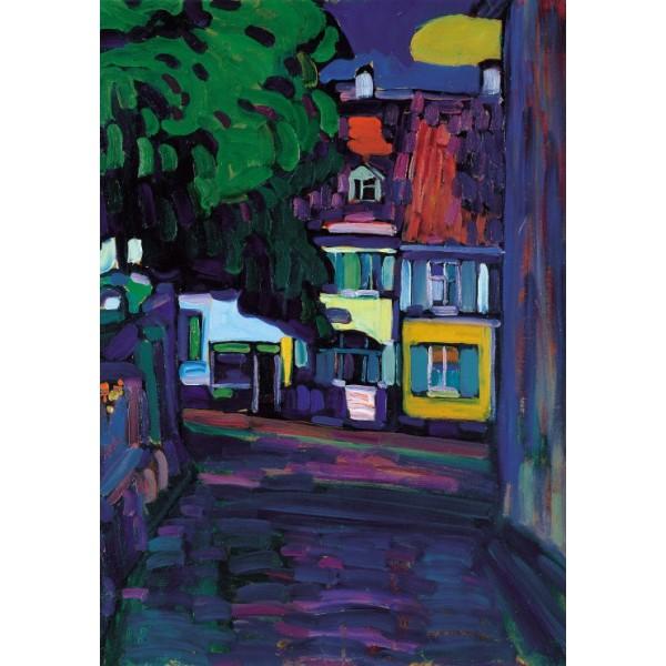 Murnau, Domy w Obermarkt, Wassily Kandinsky (1908) - Sklep Art Puzzle