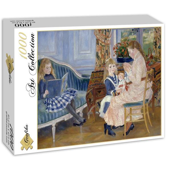 Popołudnie dla dzieci w Wargemont, August Renoir (1884) - Sklep Art Puzzle