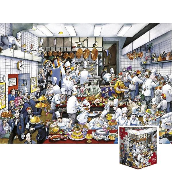 Bon appetit (Puzzle+plakat) - Sklep Art Puzzle