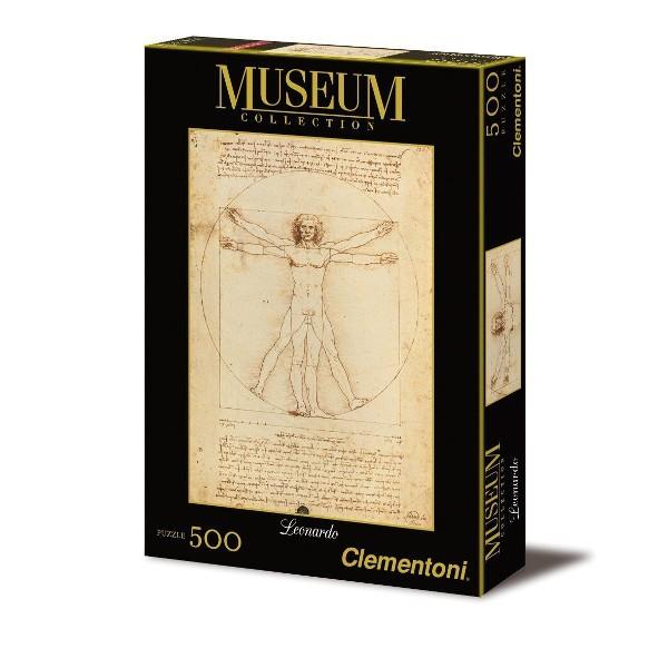 Człowiek witruwiański, Da Vinci - Sklep Art Puzzle