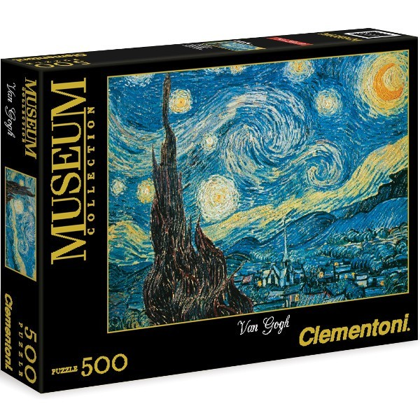 Gwiażdzista noc, Van Gogh - Sklep Art Puzzle