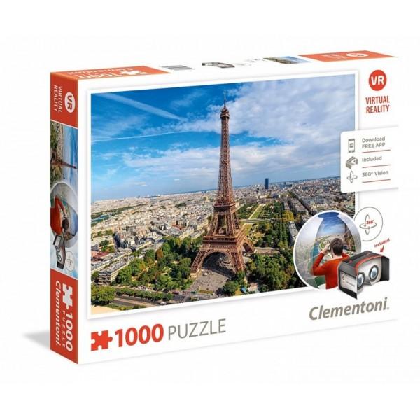 Paryż Virtual Reality - Sklep Art Puzzle