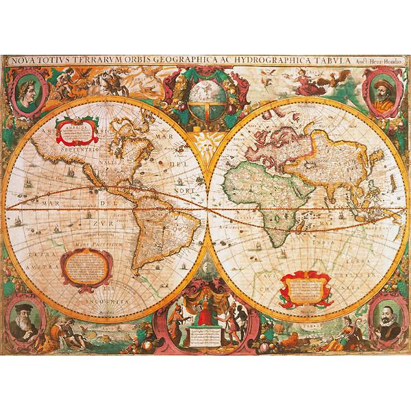 Antyczna mapa - Sklep Art Puzzle