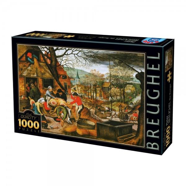 Cztery pory roku-Jesień, Breughel - Sklep Art Puzzle
