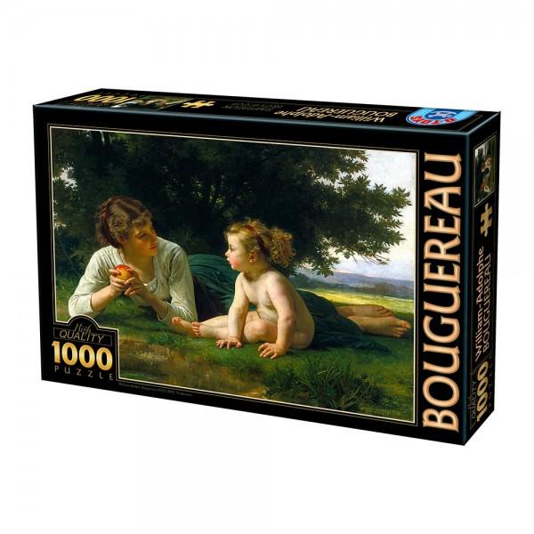 Pokusa, Bouguereau - Sklep Art Puzzle