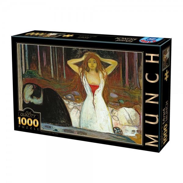 Popiół, Munch - Sklep Art Puzzle