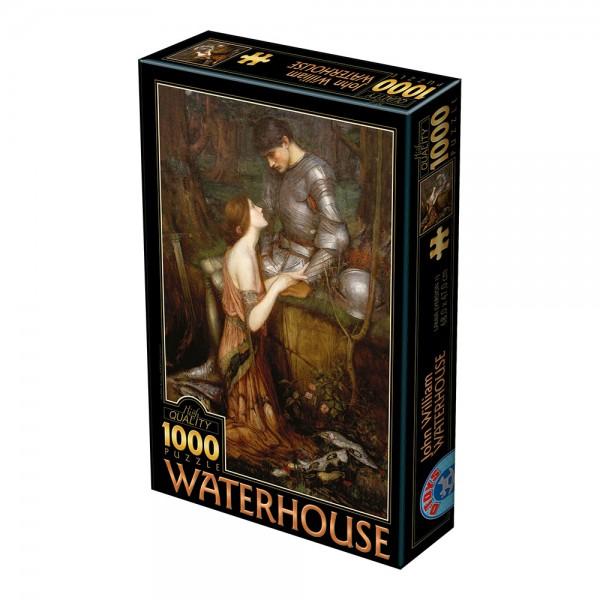 Zakochani, Waterhouse - Sklep Art Puzzle