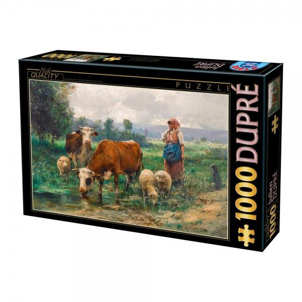 Pastwisko, Dupre - Sklep Art Puzzle