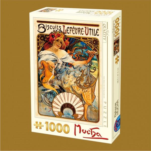 Herbatniki Lefevre-Utile, Mucha - Sklep Art Puzzle