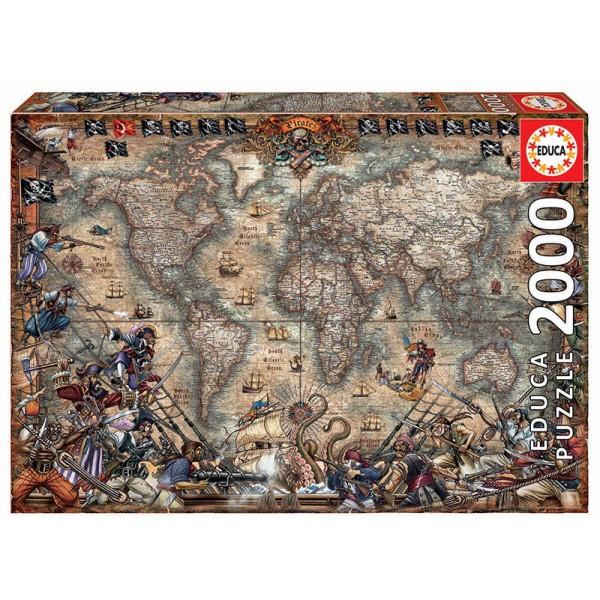 Świat pełen piratów ( Puzzle+ klej) - Sklep Art Puzzle