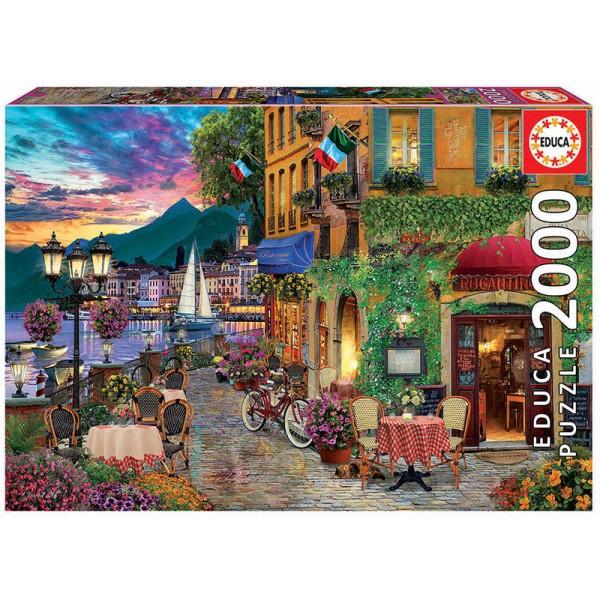 Kawiarnia Rugantino (Puzzle+klej) - Sklep Art Puzzle