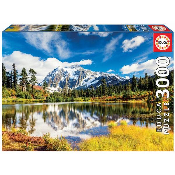 Jezioro Shuksan, Washington, USA (3000el.) - Sklep Art Puzzle