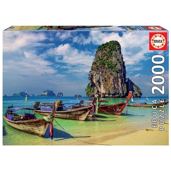 Krabi, Tajlandia (Puzzle+klej) - Sklep Art Puzzle