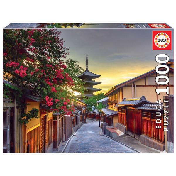 Japonia, Kyoto,Yasaka Pogoda (Puzzle+klej) - Sklep Art Puzzle