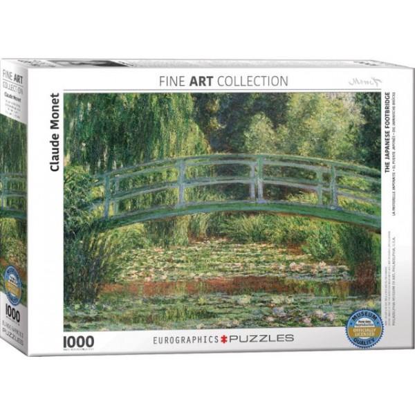 Ogród japoński, Claude Monet - Sklep Art Puzzle