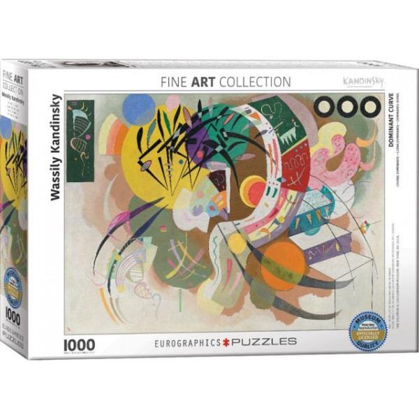 Dominacja kreski, Kandinsky Wassily - Sklep Art Puzzle