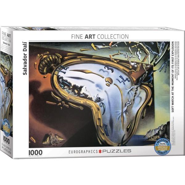 Miękki zegarek w momencie pierwszej eksplozji, Salvador Dali - Sklep Art Puzzle