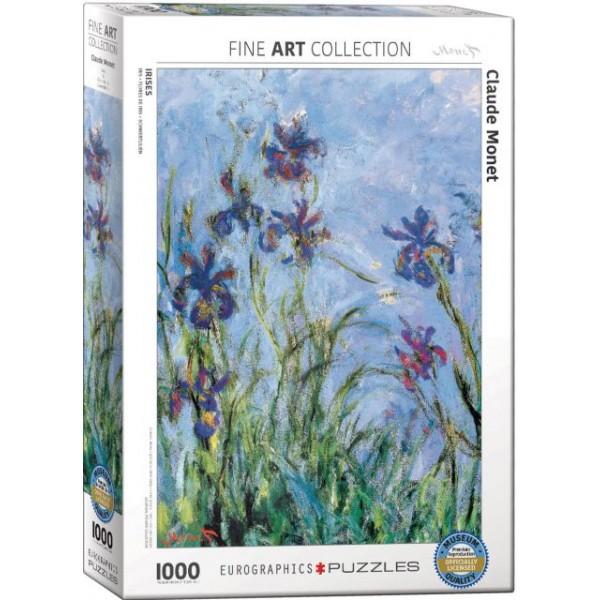 Irysy, Claude Monet - Sklep Art Puzzle