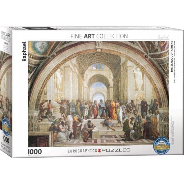 Szkoła Ateńska, Rafael Santi - Sklep Art Puzzle