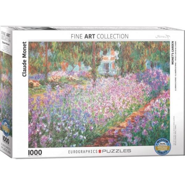 Ogród, Claude Monet - Sklep Art Puzzle
