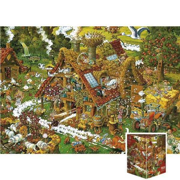 Szalona farma (Puzzle+plakat) - Sklep Art Puzzle