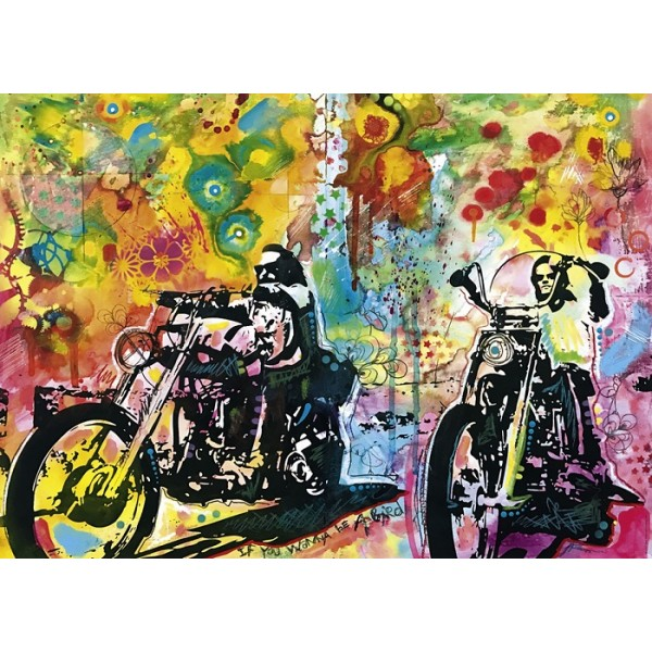 Bike art, Easy Rider - Sklep Art Puzzle