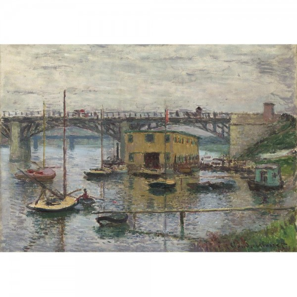 Most w Argenteuil, Monet - Sklep Art Puzzle