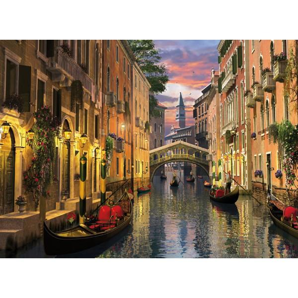 Kanał w Wenecji - Sklep Art Puzzle