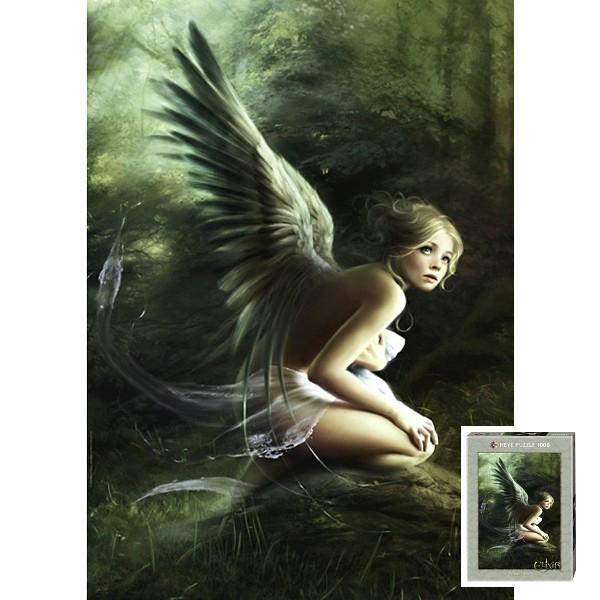 Leśny anioł, Melanie Delon - Sklep Art Puzzle