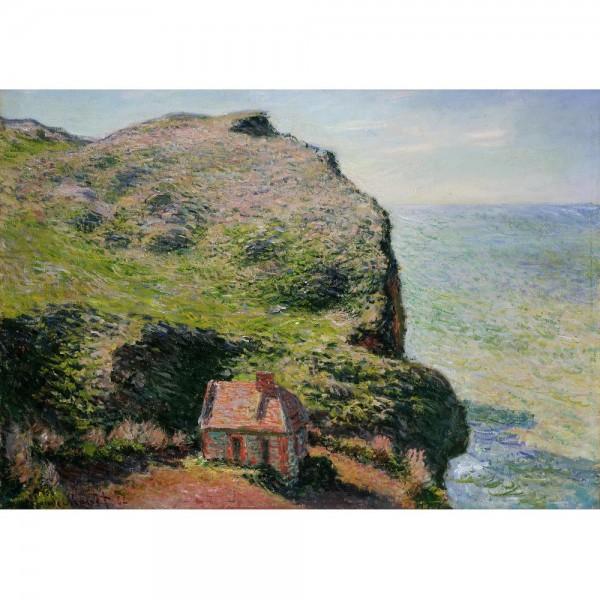 Dom na klifie, Monet - Sklep Art Puzzle