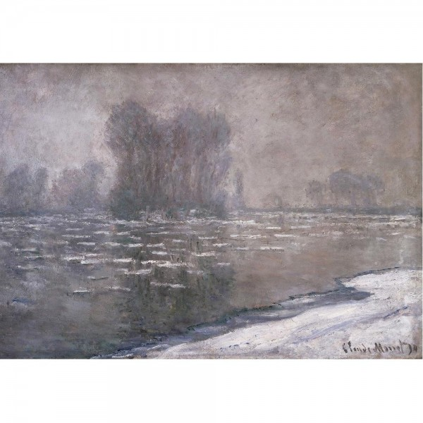 Mglisty poranek, Monet - Sklep Art Puzzle