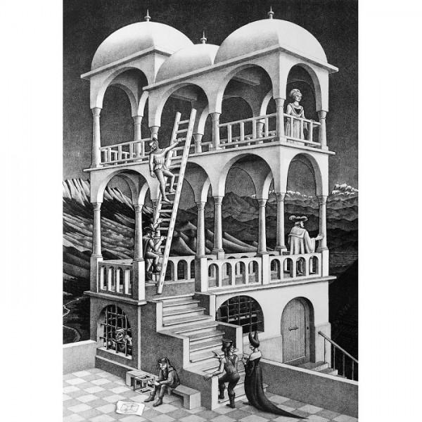 M.C.Escher-9 - Sklep Art Puzzle