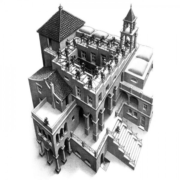 M.C.Escher-15 - Sklep Art Puzzle