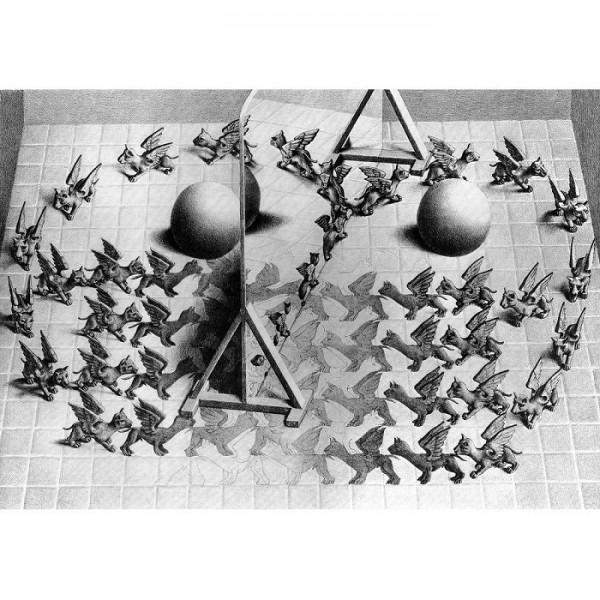 M.C.Escher-4 - Sklep Art Puzzle