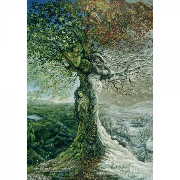 Drzewo- cztery pory roku - Sklep Art Puzzle