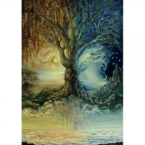Drzewo- dzień i noc - Sklep Art Puzzle