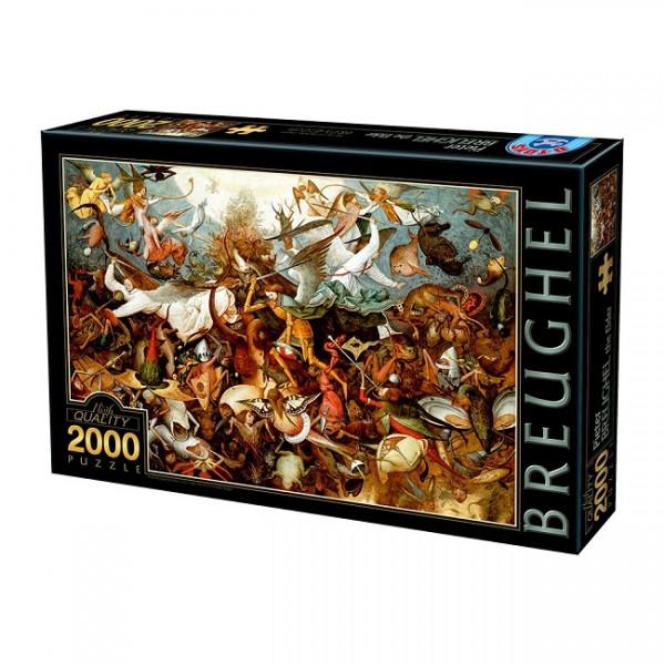 Upadek aniołów, Breughel (2000el.) - Sklep Art Puzzle