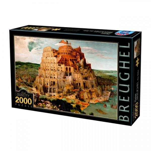 Wieża Babel, Breughel (2000el.) - Sklep Art Puzzle